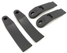 Mustang Front Seat Belt Sleeve Kit Dark Gray/SVO Gray (79-86)