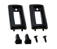 Mustang Front Seat Back Latch Knob & Bezel Kit (81-98)