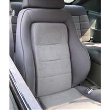 Mustang Cloth Seat Upholstery Charcoal Grey (1984)