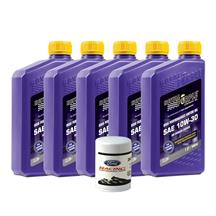 Mustang Royal Purple 10W-30 Oil Change Kit (79-95) 5.0/2.3