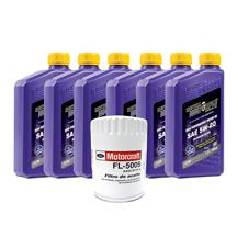 Mustang Royal Purple 5W-20 Oil Change Kit (01-09) 3.8/4.0
