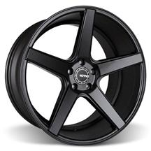 Mustang KMC 685 District Wheel - 20x10.5 Satin Black (05-17)