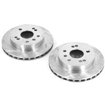 "Mustang 5 Lug Rear Brake Rotor Kit - 10"" (1993)"