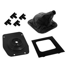 Mustang Simulated Leather Shifter Boot & Bezel Kit (87-93)
