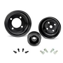 Mustang Factory Style Steel Pulley & Hardware Kit (79-93)