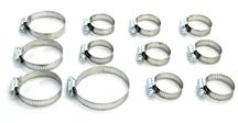 Mustang Radiator Hose Clamp Kit (86-93) 5.0