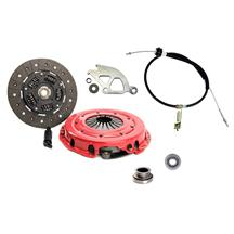 "Mustang Ram  HDX Clutch & Cable Kit - 10.5"" - 10 Spline (86-01) 5.0 4.6"
