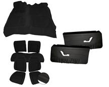 Mustang Acme Interior Kit Black (90-91) Convertible