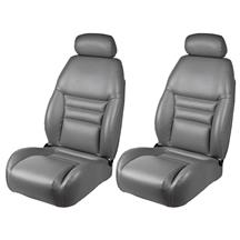 Mustang TMI Front Sport Seat Upholstery  - Opal Gray Vinyl (94-95)