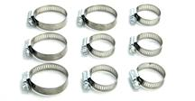 Mustang Radiator Hose Clamp Kit (96-04) 4.6