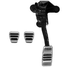 Mustang Sport Pedal Cover Kit - Manual (11-18)