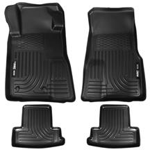 Mustang Husky Liners WeatherBeater Floor Mat Kit (10-14)