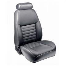 Mustang TMI Sport Seat Upholstery Medium Graphite Leather (99-04) Coupe
