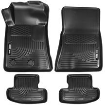 Mustang Husky Liners WeatherBeater Floor Mat Kit (15-18)
