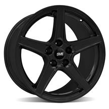 Mustang SVE Saleen Style Wheel - 18x9 Black (94-04)