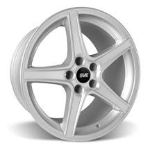 Mustang SVE Saleen Style Wheel - 18x9 Silver (94-04)