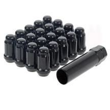 F-150 SVT Lightning Spline Drive Lug Nut Kit  Black (01-04)
