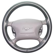 Mustang Wheelskin Steering Wheel Cover Charcoal  (99-04)