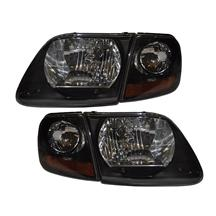 F-150 SVT Lightning Smoked Ultra Clear Headlight Kit (99-04)