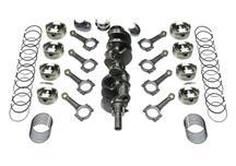 F-150 SVT Lightning Scat 393 Stroker Kit - Flat Top Pistons, I Beam Rods (93-95)