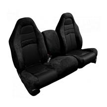 F-150 SVT Lightning TMI Seat Upholstery Kit - No Logo  - Black (99-04)