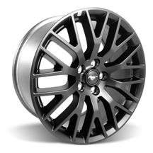 Mustang Ford Racing GT Performance Pack Rear Wheel 19x9.5 Satin Black (15-17)
