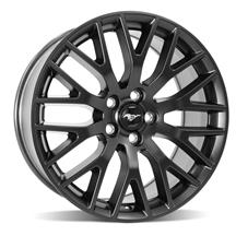 Mustang Performance Pack Front Wheel - 19x9  - Satin Black (15-18)
