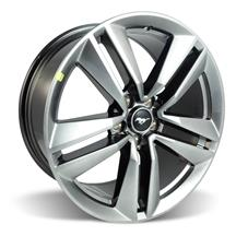 "Mustang Ford Racing EcoBoost Performance Package Wheel 19x9"" Dark Stainless  (15-17)"