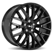Mustang Performance Pack Wheel - 19x9  - Gloss Black (15-17)