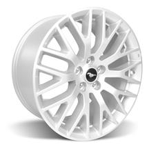 Mustang Ford Racing GT Performance Pack Front Wheel 19x9 Sparkle Silver (15-17)