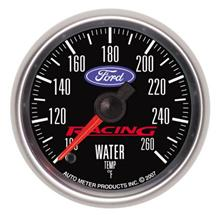 "Ford Racing Water Temperature Gauge - 2-1/16"" - Stepper"