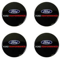 Mustang Ford Performance Black Center Cap Kit (15-18)