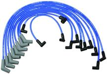 Mustang Ford Performance Plug Wire Set Blue (79-95)