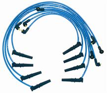 Mustang Ford Performance Plug Wire Set  - Blue (96-98) 4.6L 2V