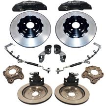 "Mustang Ford Performance GT500 Brake Kit W/ 2-Piece Rotors - 6 Piston - 15"" (05-14)"
