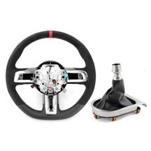 Mustang Ford Performance Shelby GT350R Steering Wheel & Shift Boot Kit  - w/o SYNC (15-17)