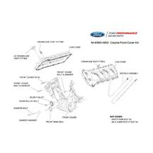 Mustang Ford Racing Coyote Timing Cover & Cam Cover Kit (11-17) 5.0