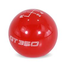 Ford Performance Mustang GT350 Shift Knob  - Red (15-20) M-7213-M8SR