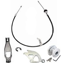 Mustang Ford Racing Complete Clutch Cable Kit (79-93)