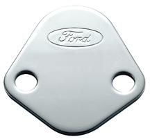 Mustang Fuel Pump Block-Off Plate with Ford Oval Logo (79-85)