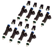 Mustang Ford Performance Fuel Injectors - EV6 -   Uscar w/ Jetronic Adapters - 47lb (86-04)