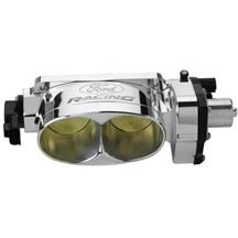 Mustang Ford Racing Twin 62mm Throttle Body Polished (05-10) 4.6L 3V