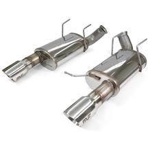 "Mustang Magnaflow 3"" Street Axle Back Exhaust System  - Stainless (11-12)"