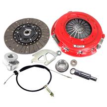 "Mustang McLeod Street Level Clutch & Cable Kit - 10.5"" - 10 Spline (86-95) 5.0"