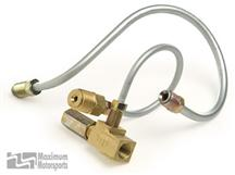 Mustang Maximum Motorsports Adapter for SVO Brake Master Cylinder  To Factory 1987-93 Mustang Ha...