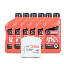 Motorcraft F-150 SVT Lightning Oil Change Kit - 5W20 (01-04) 4.6