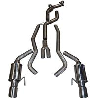 Mustang MRT Complete Exhaust System 200 Cell (15-17) 2.3
