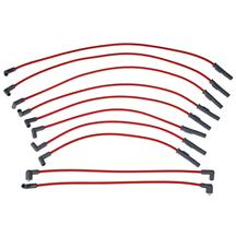 Mustang MSD Super Conductor Spark Plug Wires Red (86-93) 5.0