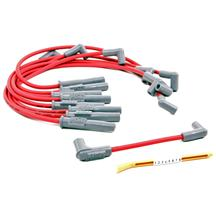 Mustang MSD Super Conductor Spark Plug Wires Red (94-95) 5.0