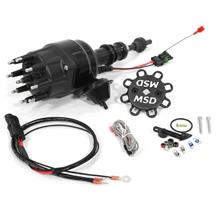 Mustang MSD Black Ready-To-Run Distributor (79-85) 5.0